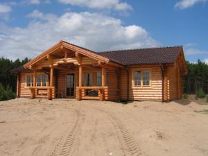 Casas de tronco redondo - Casas troncos de madera ...