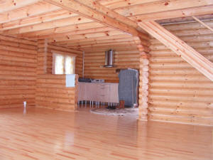 Casas prefabricadas madera casas de madera de tronco redondo - Casas troncos de madera ...