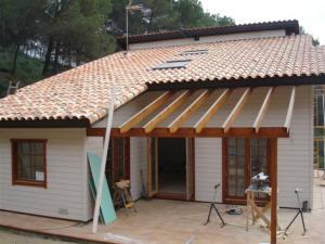 Casas de entramado ligero de madera - Tipos de tejados para casas ...